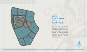 مساحة وموقع متميز في قلب العاصمة الجديدة