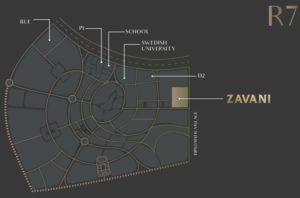 موقع كمبوند زافانى العاصمة الجديدة