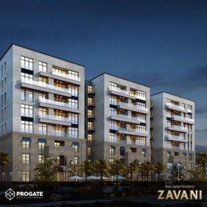 مشروع زافانى العاصمة الادارية