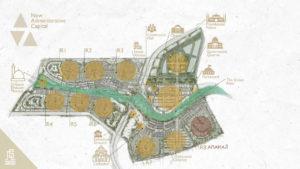 موقع كمبوند اناكاجى العاصمة الادارية